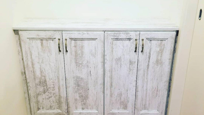 Alcove base cabinet