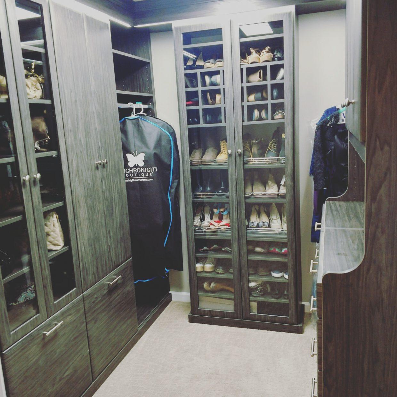 Stunning Walk-In Closet
