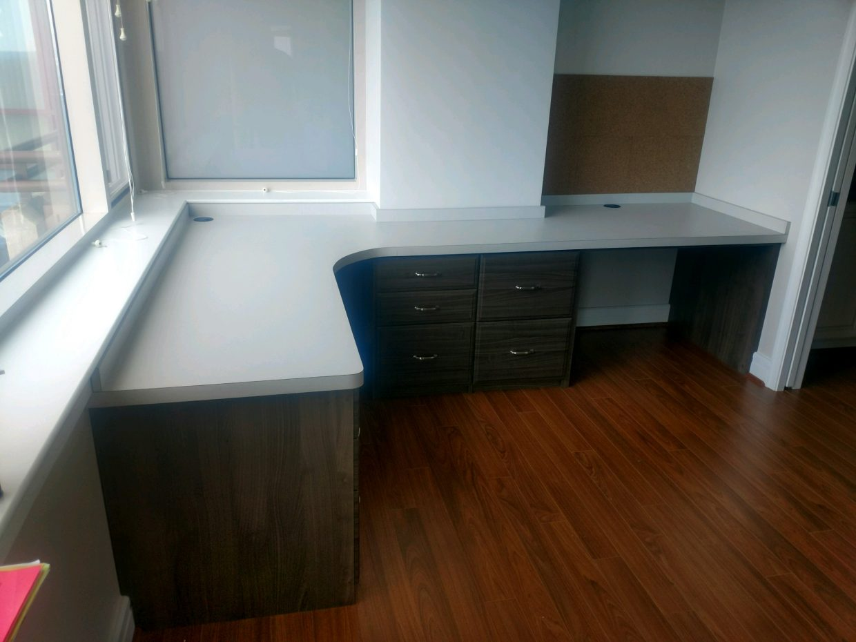 Home office custom desk