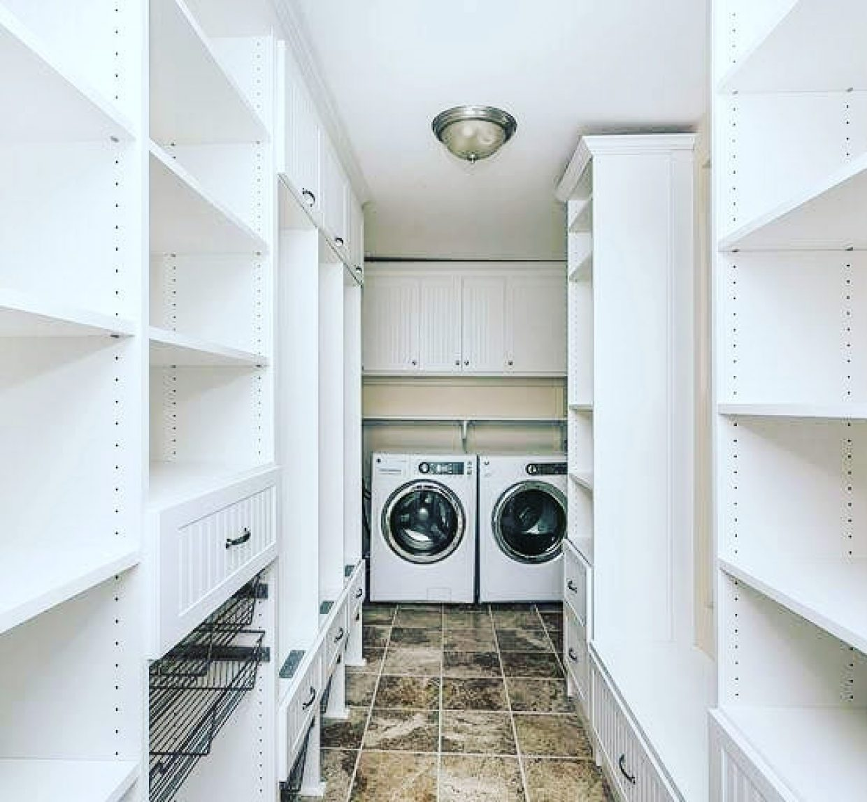 Mudroom, Pantry, and Laundry Room