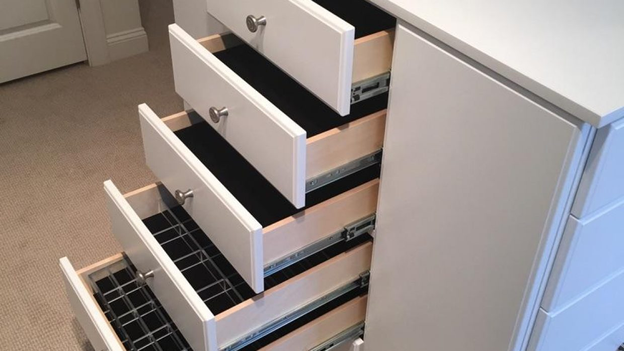 Custom Jewelry drawers