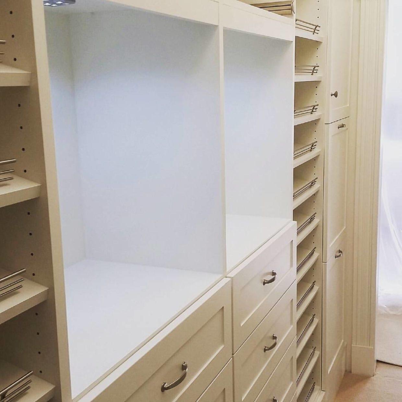 Lighted Master Closet