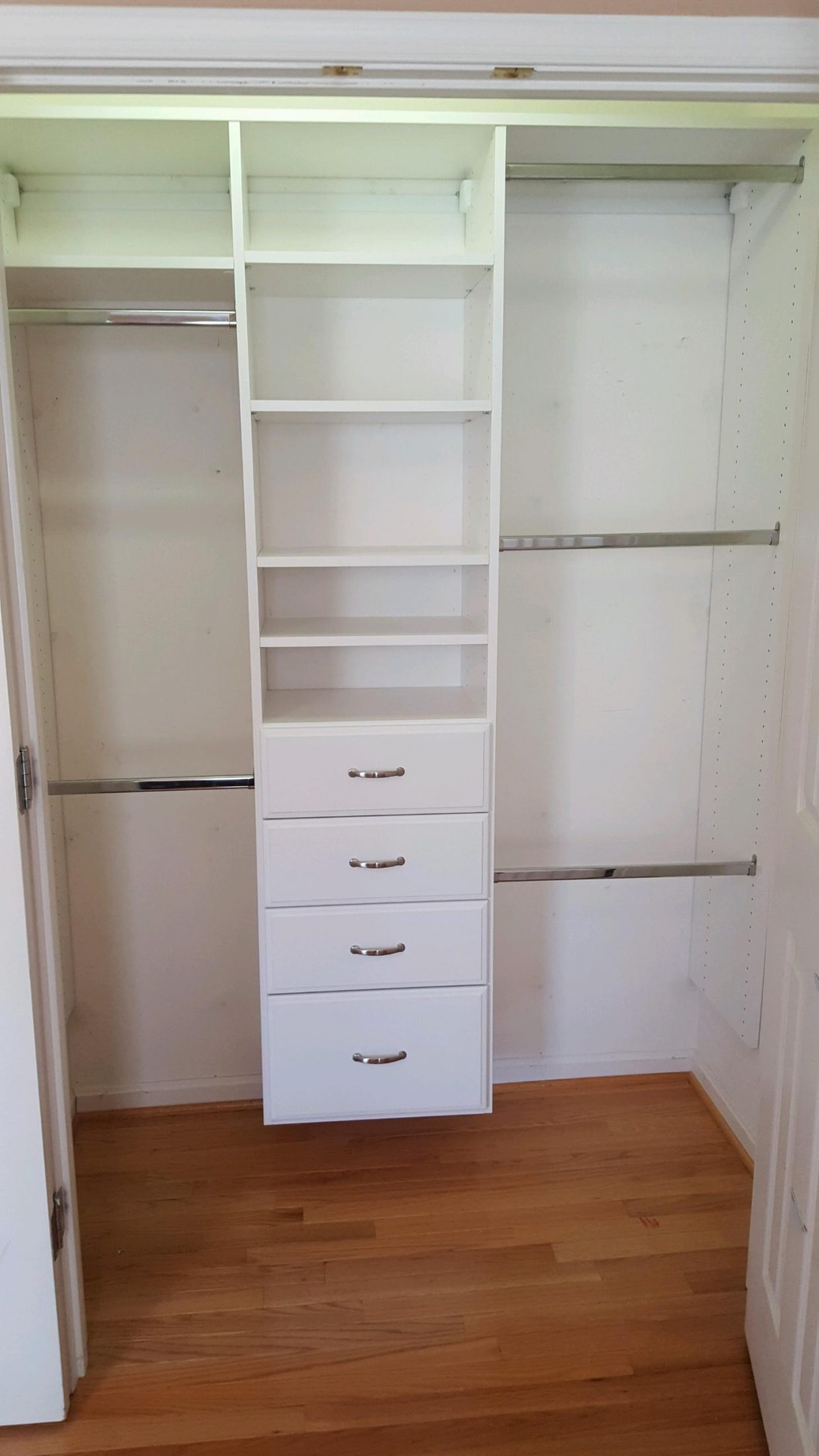 Nursery Reach In Closet