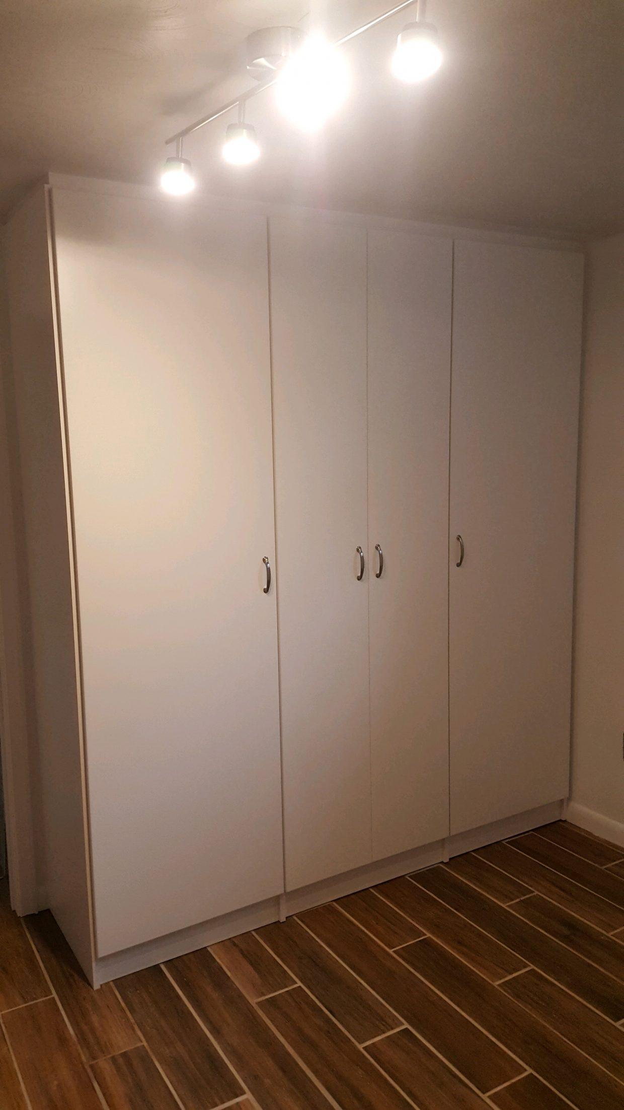 White Storage Cabinets